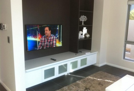 TV wall mounting 4
